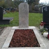 Staand monument S23 Gebr. Ridder Grafmonumenten Bovensmilde en Lutten Eden Groep