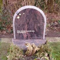 Staand monument S27 Gebr. Ridder Grafmonumenten Bovensmilde en Lutten Eden Groep