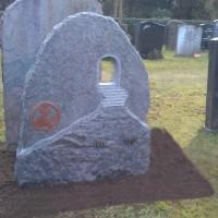 Staand monument S12 Gebr. Ridder Grafmonumenten Bovensmilde en Lutten Eden Groep