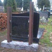 Staand monument S13 Gebr. Ridder Grafmonumenten Bovensmilde en Lutten Eden Groep