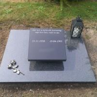 Urnmonument nr. U23 Gebr. Ridder Natuursteen Bovensmilde en Lutten Eden Groep
