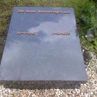 Urnmonument nr. U12 Gebr. Ridder Natuursteen Bovensmilde en Lutten Eden Groep