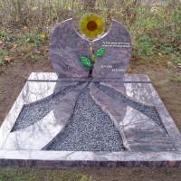 Dubbele grafstenen nr. D21 Gebr. Ridder Grafmonumenten Bovensmilde en Lutten Eden Groep