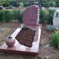 Enkele grafstenen E09 Gebr. Ridder Grafmonumenten Bovensmilde en Lutten Eden Groep