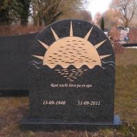 Staand monument S28 Gebr. Ridder Grafmonumenten Bovensmilde en Lutten Eden Groep