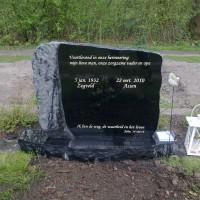 Staand monument S01 Gebr. Ridder Grafmonumenten Bovensmilde en Lutten Eden Groep