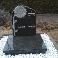 Urnmonument nr. U27 Gebr. Ridder Natuursteen Bovensmilde en Lutten Eden Groep