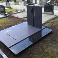 Dubbele grafstenen nr. D39 Gebr. Ridder Grafmonumenten Bovensmilde en Lutten Eden Groep