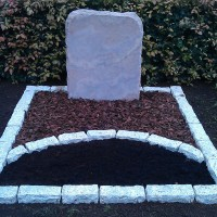 Dubbele grafstenen nr. D34 Gebr. Ridder Grafmonumenten Bovensmilde en Lutten Eden Groep