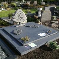 Dubbele grafstenen nr. D06 Gebr. Ridder Grafmonumenten Bovensmilde en Lutten Eden Groep