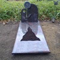 Enkele grafstenen E04 Gebr. Ridder Grafmonumenten Bovensmilde en Lutten Eden Groep